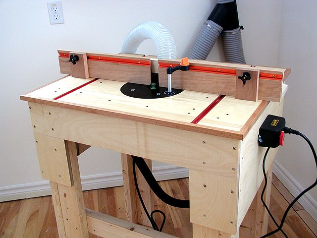 3 Free Router Table Plans