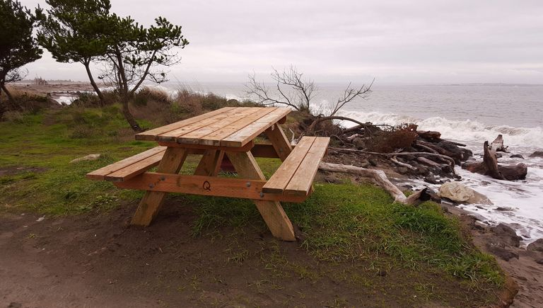 5 free picnic table plans diy woodworking plans. Black Bedroom Furniture Sets. Home Design Ideas