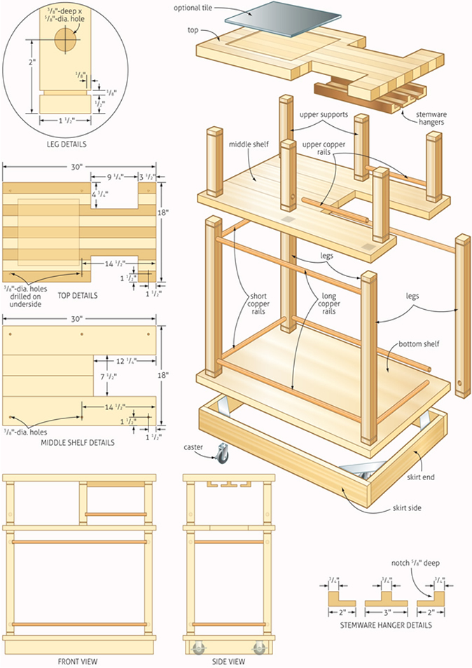 Free Woodworking Plans And Projects