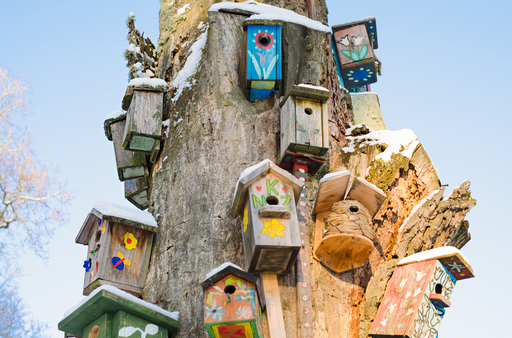 DIY Kid's Birdhouse Ideas