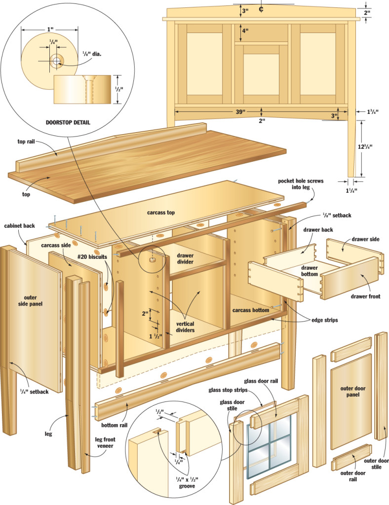 150 Free Woodworking Projects & Plans — DIY Woodworking Plans