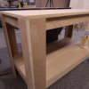 Sturdy Shop Table From Single Sheet of Plywood