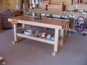 Building A Simple Work Bench Diy Woodworking Plans