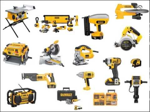 Power Tools List for Woodworkers