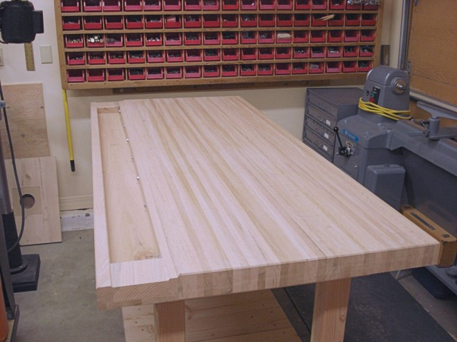 How To Build Your Own Woodworking Bench Top